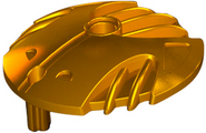 Goldene Rüstung Schild