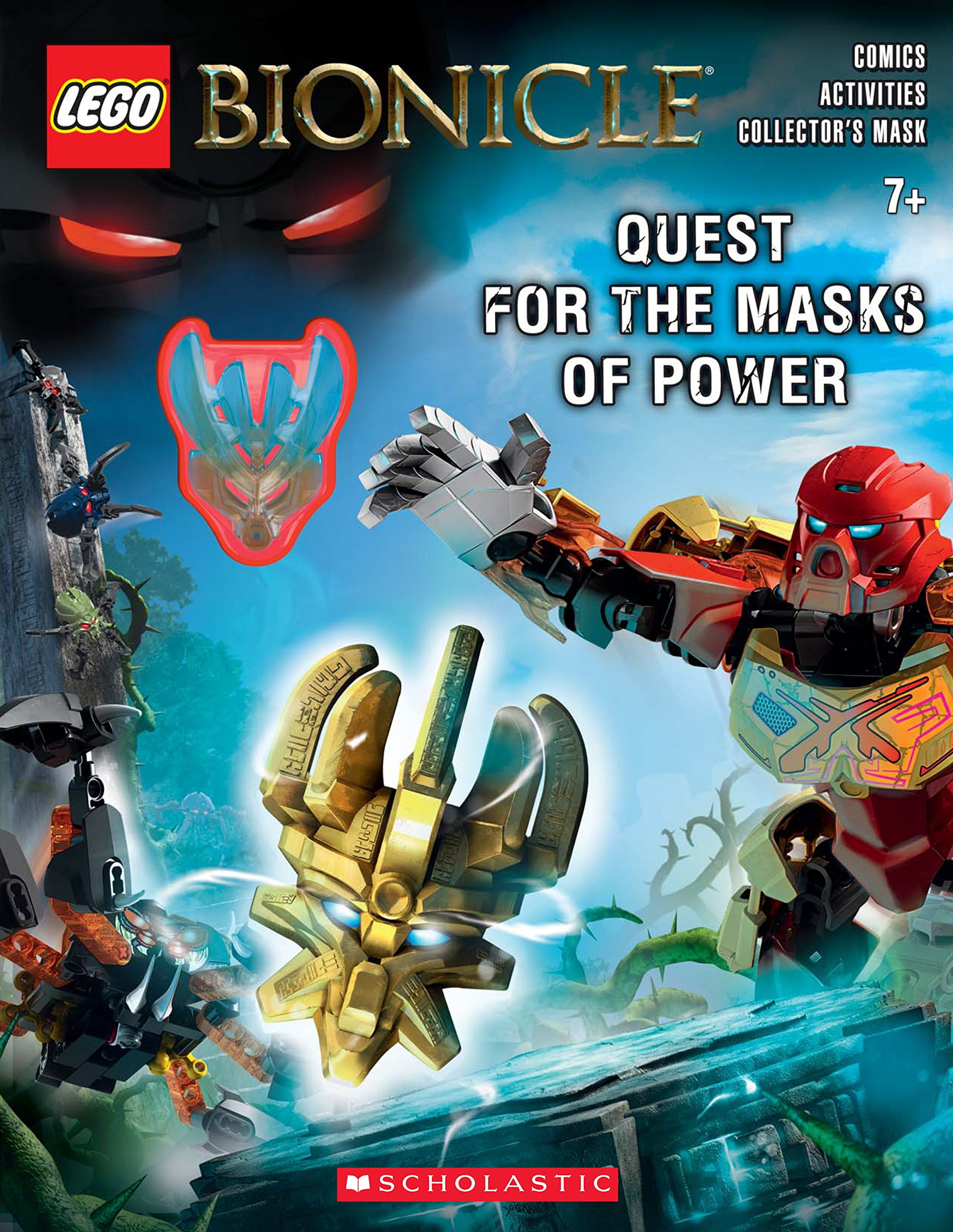 Quest for the Masks of Power (activity book)