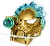 Golden Unity Mask of Ice