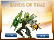 Sands of Time alkuruutu