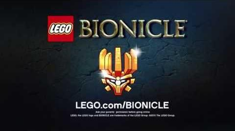 LEGO Bionicle 2015 - Masks of Power Trailer