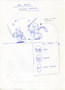 MNOG konseptitaide Tahu-animaatio juoksu