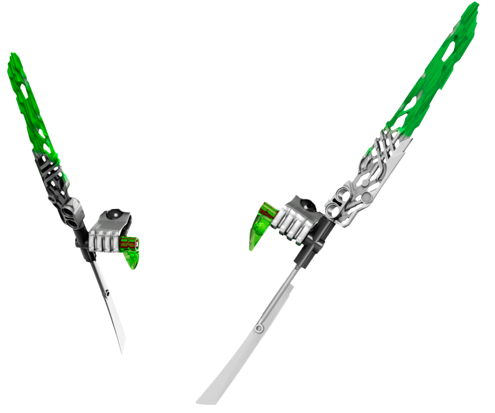 Jungle Crystal Blades