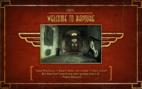 Bio Loading Screen Welcome to Rapture Pre-Launch Kashmir Restaurant Entrance