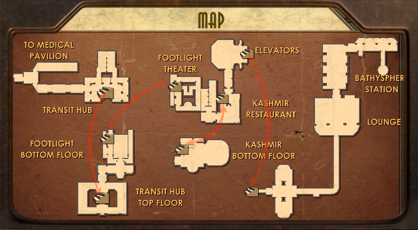 Visible Map of Welcome to Rapture.