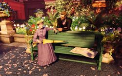 BaSE2 Paris ''In the Conservatory'' Couple on Bench.jpg