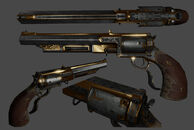 X Hand Cannon rendering