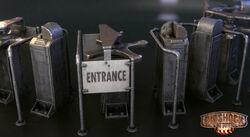 BioI Unused Waist-High Entrance Turnstile.jpg