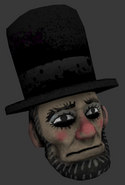 Unused Abraham Lincoln Mask