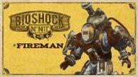 BioShock Infinite Fireman Steam Trading Card