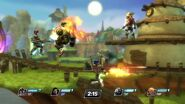 Playstation All-Stars Battle Royale Bouncer Figth
