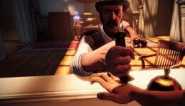 Bioshock infinite - hand stab