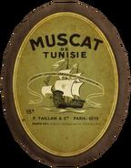 Paris sign - Muscat de Tunisie
