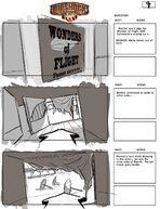 BioShock Infinite Early Battleship Bay Storyboards 7