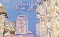 Close Up Of Background Buildings 1