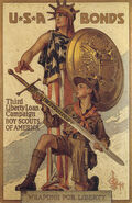 U.S.A Bonds – Third liberty loan campaign – Boy Scouts of America Youth of Columbia