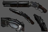 Shotgun Columbia model render