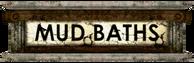 Adonis Mud Baths sign