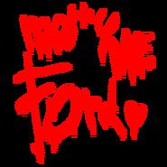Mary Me Ford graffiti