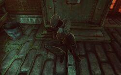 BioI Shantytown Homless Man Covering in Fear.jpg