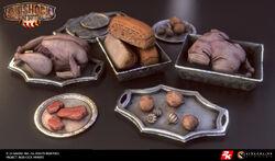 BioI Unused Silver Trays with Food.jpg
