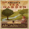 Cartellone pubblicitario Tea Garden