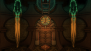 Worlds of Hurt Room door