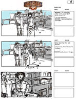 BioShock Infinite Early Battleship Bay Storyboards 4