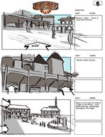 BioShock Infinite Early Battleship Bay Storyboards 8