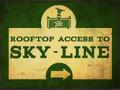 Accesso tetto per Sky-Line