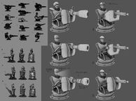 BI GunRocket Automaton Concept