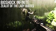 Bioshock Infinite- Zealot of the Lady (Crow) Quotes