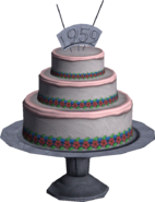 Kashmir Cake Multiplayer Model Render