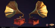 BioI Paul Presley Phonograph Model
