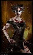 BioShock Film Concept Art - Splicer Torch Singer 2