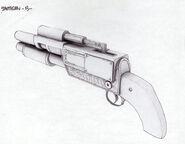 BioShock Shotgun Concept Art9