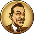 Andrew Ryan PlayStation 3 BioShock Theme Icon