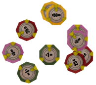 Pharaoh's Fortune poker chips