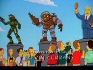 Bouncer en los Simpson