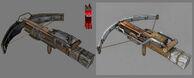 Crossbow Model & Concept Art
