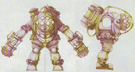 Early Hydraulic Bouncer Concept Art
