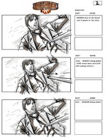 BioShock Infinite Early Battleship Bay Storyboards 2