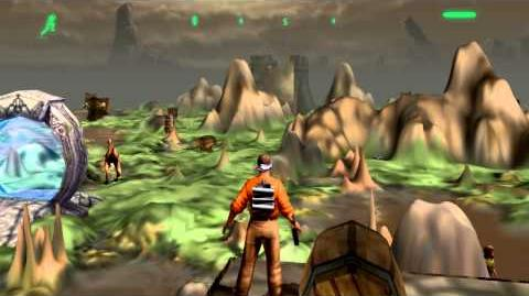 Outcast gameplay in 720p HD using an Xbox 360 controller (PC)