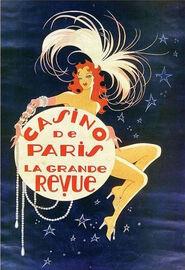 Casino de Paris La Grande Revue poster