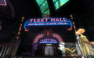 BS1R Fleet Hall Sign