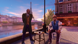 Burial at Sea Episode 2 Scripted Events Paris greeter.png