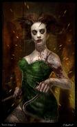BioShock Film Concept Art - Splicer Torch Singer