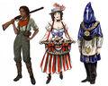 Concept Art Personaggi BioShock Infinite