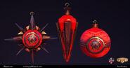 BaSE1 Paul Presley Fontaine's Pavilion Ornament Models