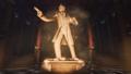 La statua di Booth